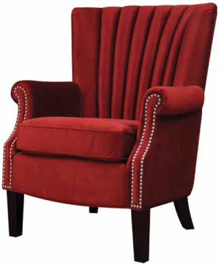 Stratford Red Pepper Armchair