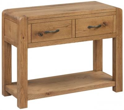 Capri Oak Console Table