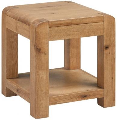 Capri Oak Side Table