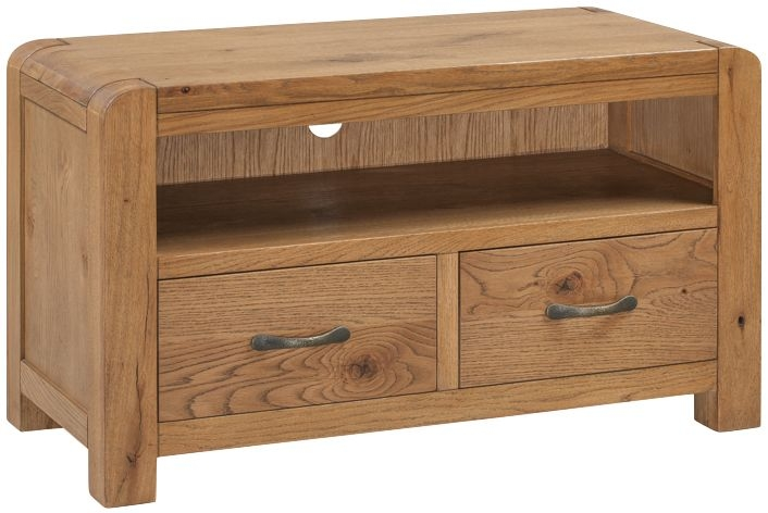 Capri Oak Standard TV Unit