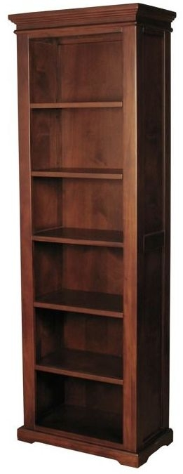 Clarion Mahogany Bookcase - High