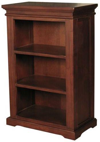 Clarion Mahogany Bookcase - Low