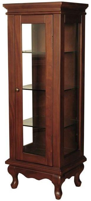 Clarion Mahogany Display Cabinet