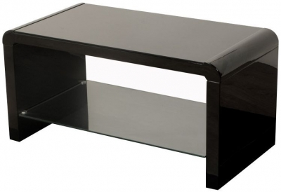 Clarus Black Coffee Table