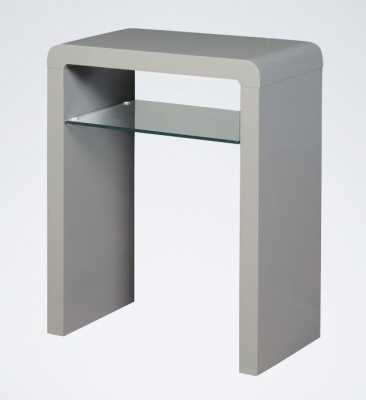 Clarus Grey Small Console Table