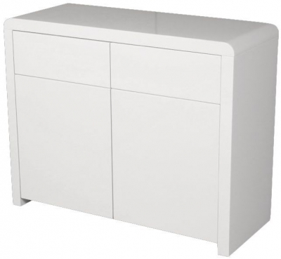 Clarus White Sideboard