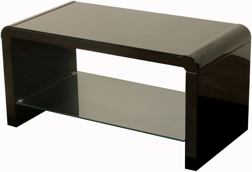 Clarus Black Coffee Table