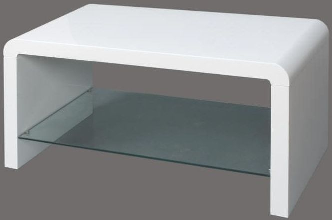 Clarus White Coffee Table