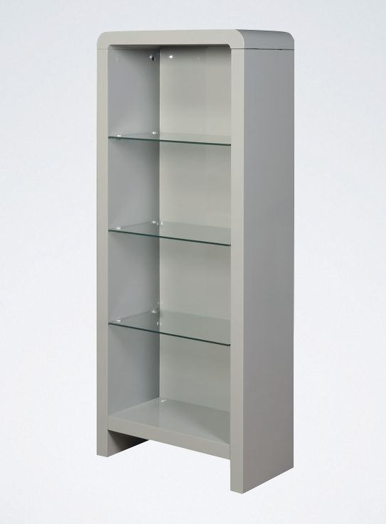 Clarus Grey Bookcase