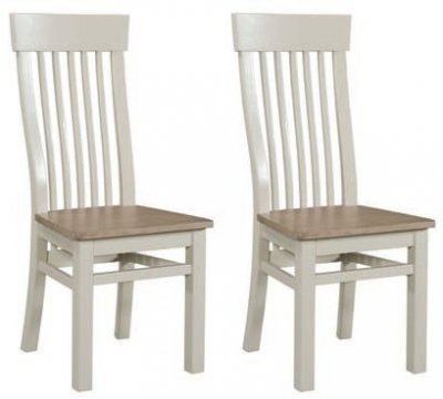 Clearance - Treviso Painted Dining Chair (Pair) - New - E-60
