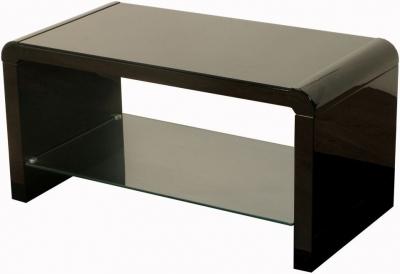Clearance Atlantis Clarus Black Coffee Table - W103