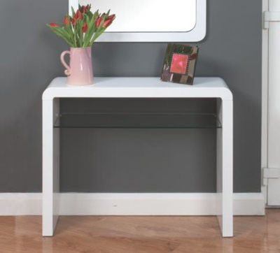 Clearance Atlantis White Clarus Hall Table - G227