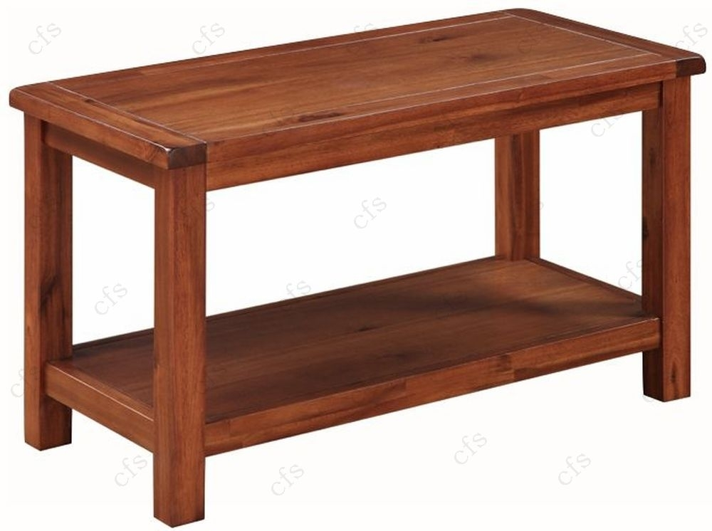 Clearance Hartford Acacia Coffee Table - G113