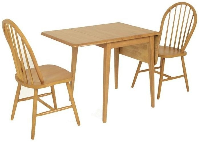 Clearance Honeymoon DropLeaf Dining Set with 2 Chairs - G64