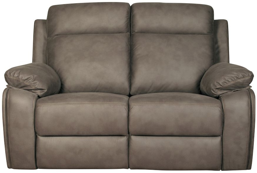 Darwen Grey 2 Seater Fabric Sofa