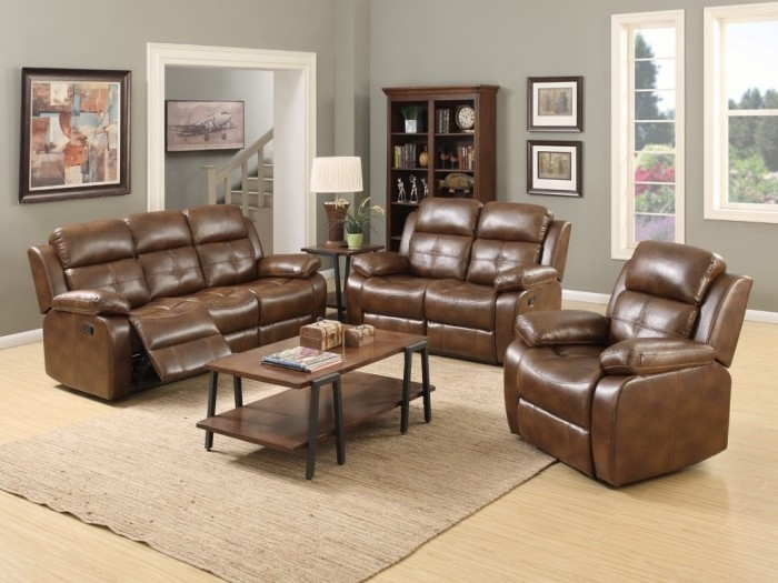 Dorchester Tan 3+1+1 Leather Sofa Suite