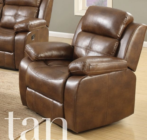 Dorchester Tan Leather Armchair