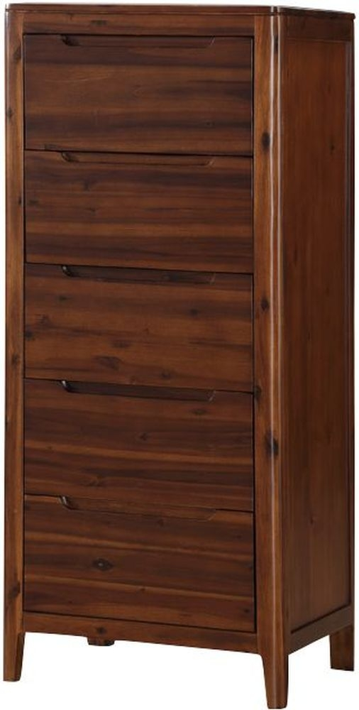 Dunmore Acacia 5 Drawer Chest