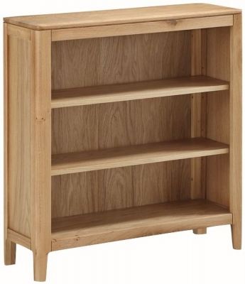 Dunmore Oak Low Bookcase