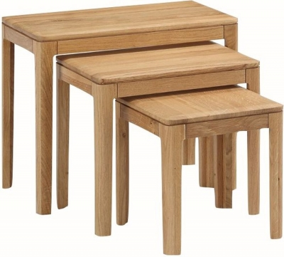 Dunmore Oak Nest of Tables