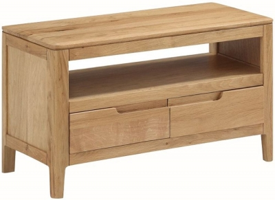 Dunmore Oak TV Unit