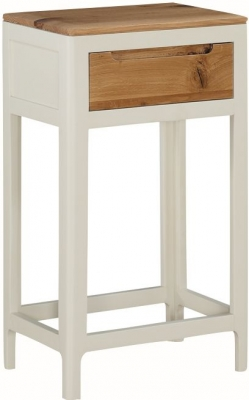 Dunmore Oak and White Painted Hall Table