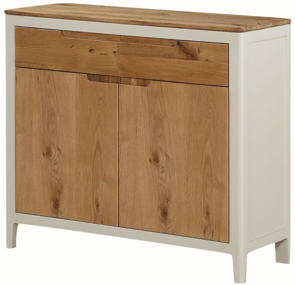 Dunmore Sideboard - Oak and Spanish White Painted