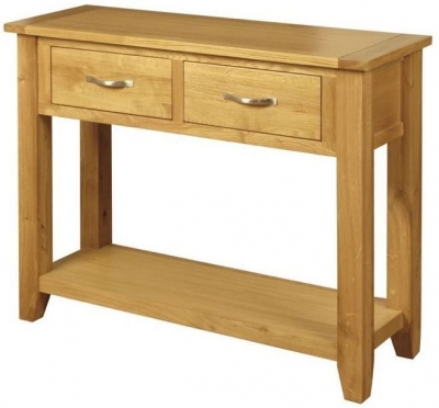 Ellington Oak Hall Table - Large