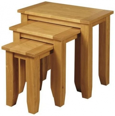 Ellington Oak Nest of Tables