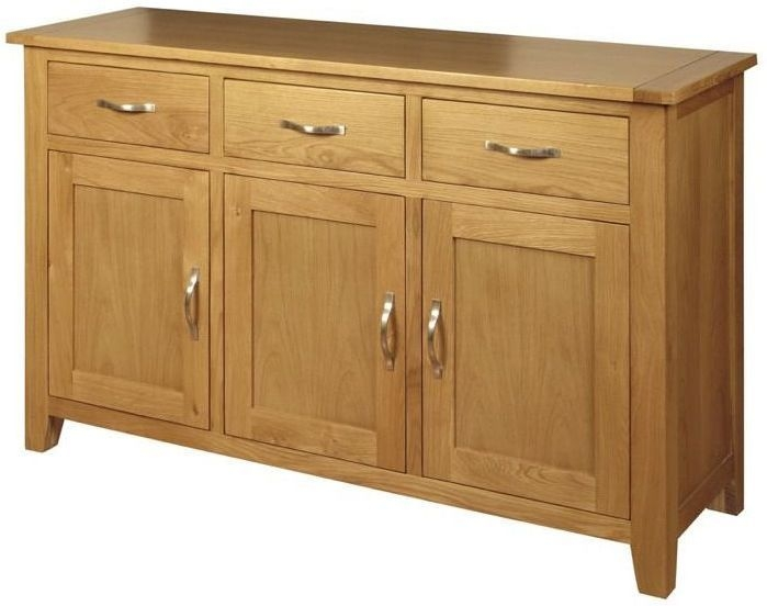 Ellington Oak Sideboard - 3 Door