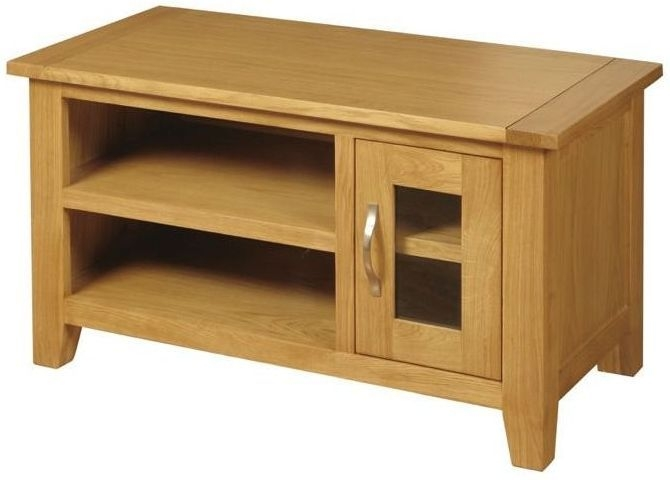 Ellington Oak TV Unit - Small