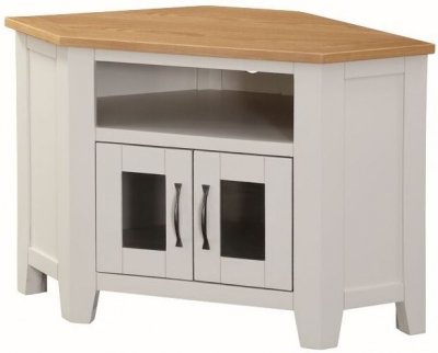 Ellington Painted TV Unit - Corner