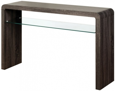 Encore Charcoal Large Console Table