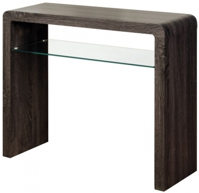 Encore Charcoal Small Console Table