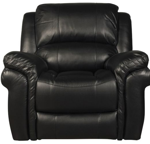 Farnham Black Leather Armchair
