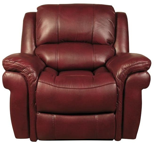 Farnham Burgundy Leather Armchair
