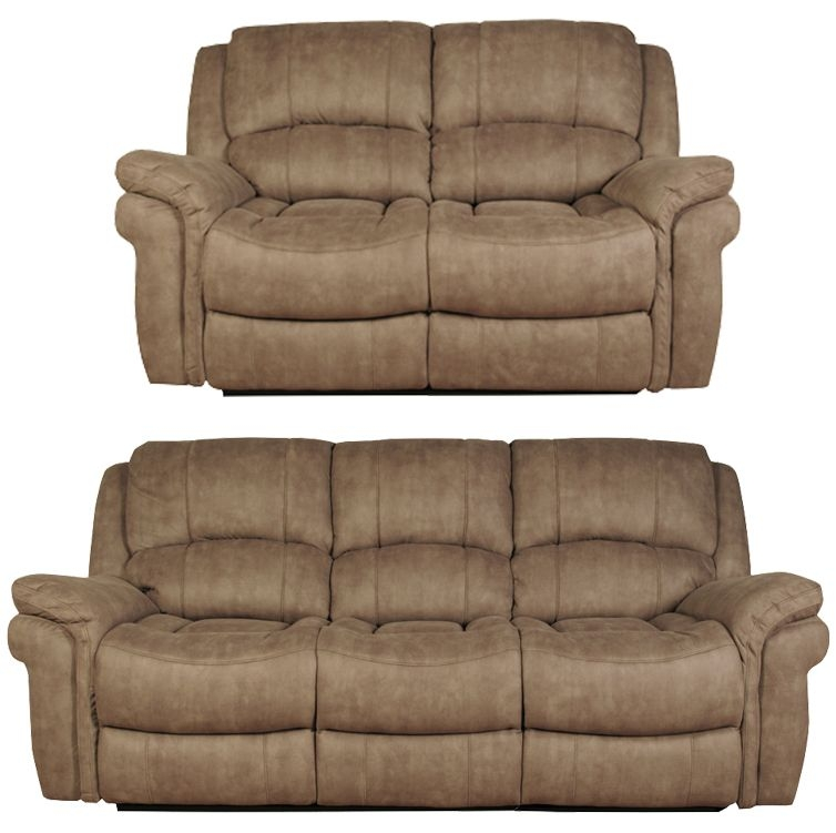 Farnham Taupe 3+2 Leather Sofa Suite