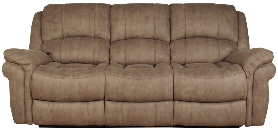 Farnham Taupe 3 Seater Leather Sofa