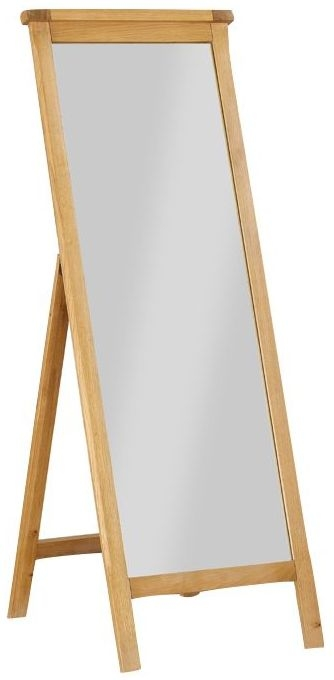 Glenbrook Oak Cheval Mirror