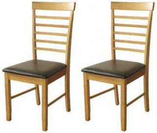 Hanover Light Oak Dining Chair (Pair)