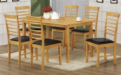 Hanover Light Oak Large Dining Table