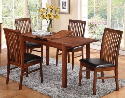 Hartford Acacia Butterfly Extending Dining Table
