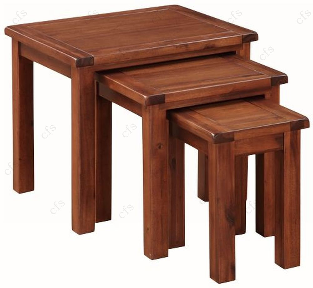 Hartford Acacia Nest of Tables