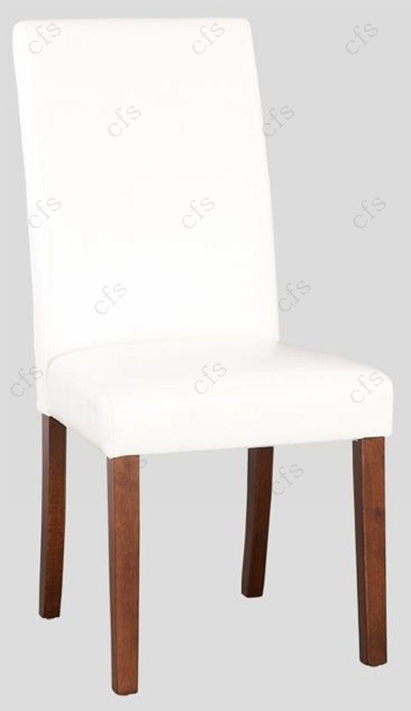 Hartford Acacia White Dining Chair (Pair)