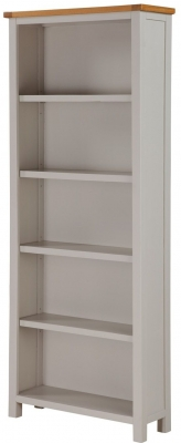 Hartford Tall Bookcase - Oak and Painted