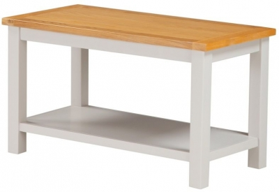 Hartford Coffee Table - Oak and Painted