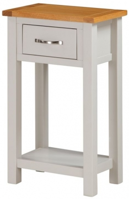 Hartford Console Table - Oak and Painted