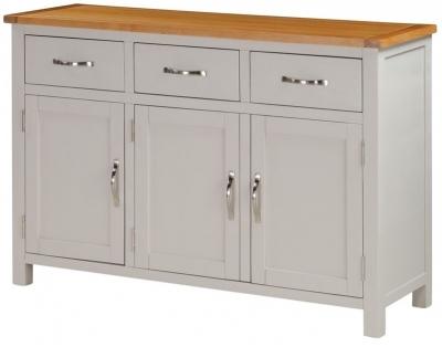 Hartford Wide Sideboard - Oak and Painted