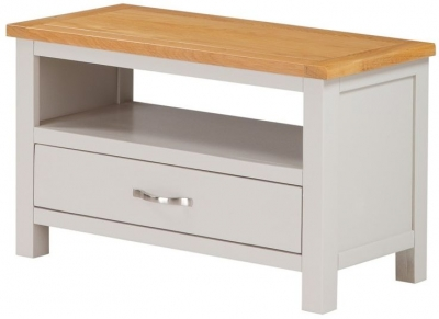 Hartford TV Unit - Oak and Painted