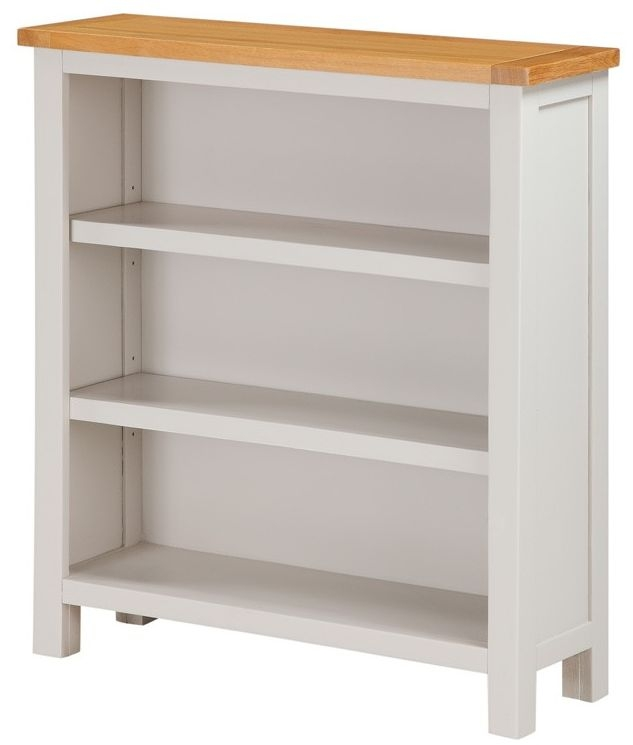 Hartford Painted Low Bookcase
